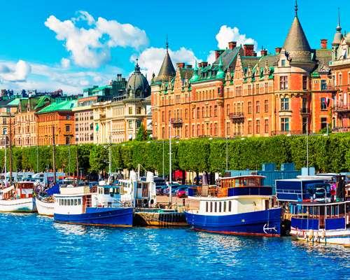 Sehnsuchtsland Schweden von Stockholm bis Oslo inkl. Hausboot-Übernachtung & Fjord-Tour