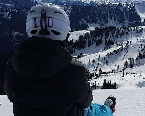 Vacaciones invernales en las montañas de Tirol