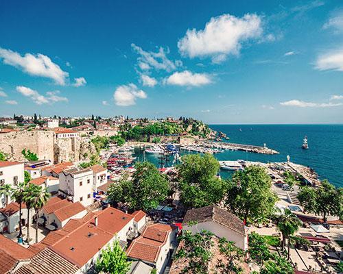 Türkische Riviera Flug + Hotel