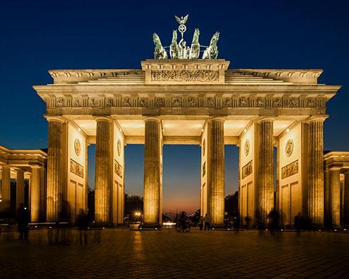 Puerta de Brandeburgo en Berlín