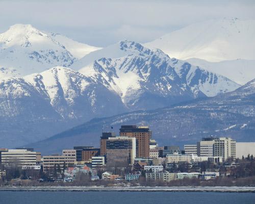 Alaszka, Anchorage szállással és repülővel