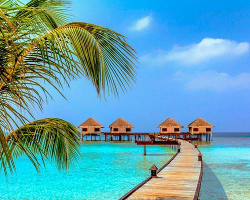Maldív-szigetek utazás 4 csillagos hotellel, repülőjeggyel