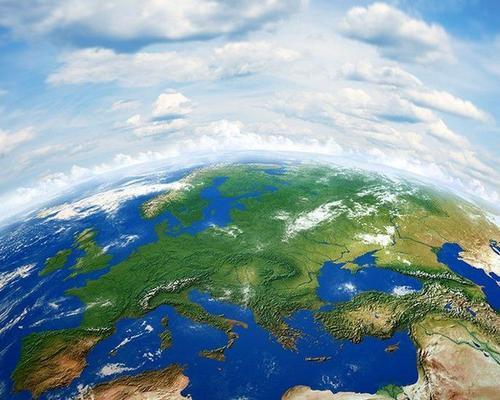 Vista aérea de la tierra
