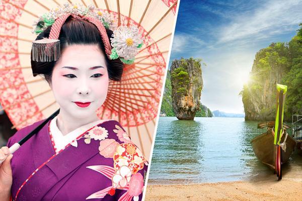 Japan + Phi Phi Islands