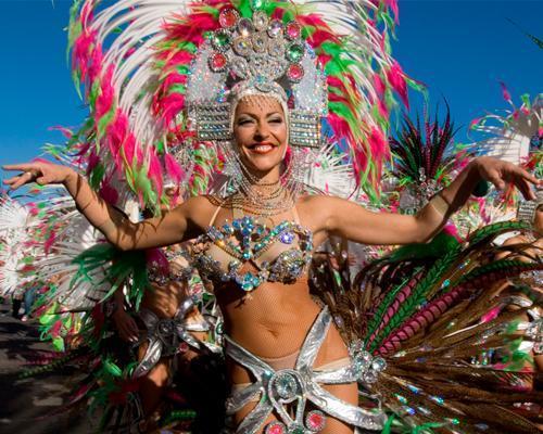 Pasacalles carnaval de Gran Canaria