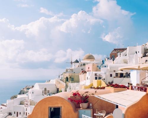 Santorini: 5 éjszaka tavasszal szállással, bécsi indulással
