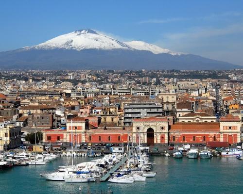 Szicília, Catania szállással, reggelivel és repjeggyel