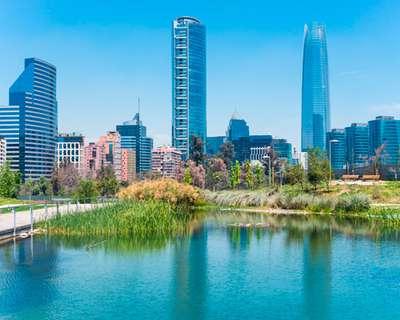 Visite Santiago de Chile,  la ciudad entre los nevados de los Andes y Concepción, la ciudad de la cultura