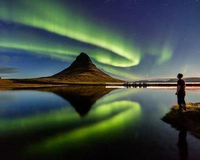 Polarlichter & Gletscher in Island