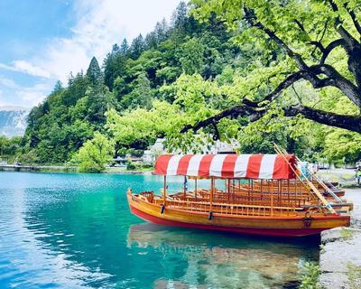 Bled, Szlovénia: hotel reggelivel, egyéni utazással