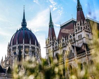 Cúpula del parlamento en Budapest