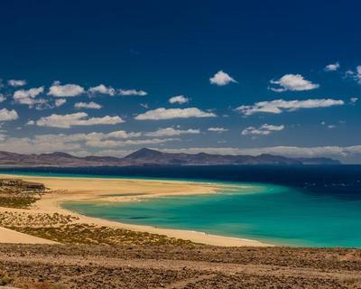 Sonne pur & Wüstenlandschaften auf Fuerteventura