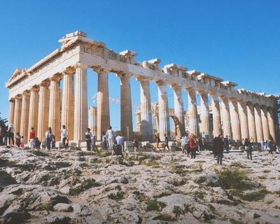 Vuelo de ida y vuelta a Atenas