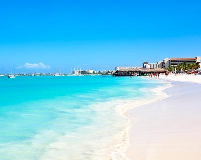 Aruba 4 csillagos szállással és repjeggyel Bécsből