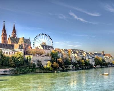 Egy hét Svájc, Bázel repülőjeggyel és szállással