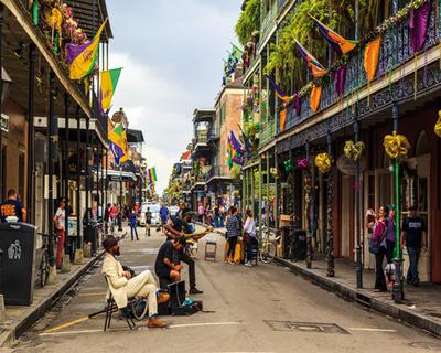 Everglades y Jazz en Estados Unidos
