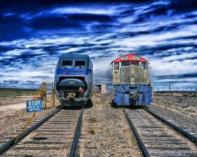 Mit dem Zug durch die USA