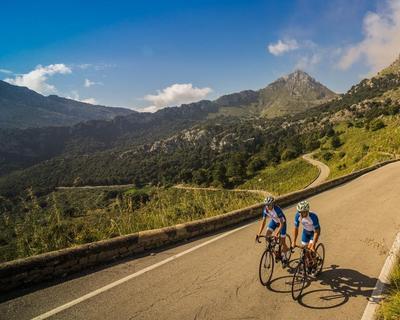 Trainings - Break für Radsportler unter Mallorcas Sonne