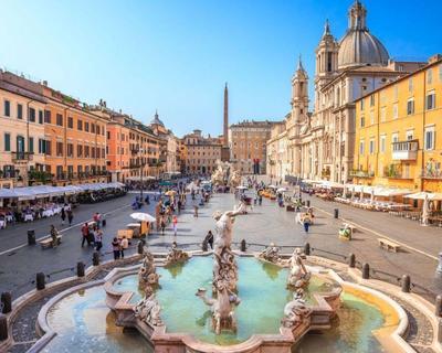 Róma májusban: utazás repülővel + hotel 3 éjszakára