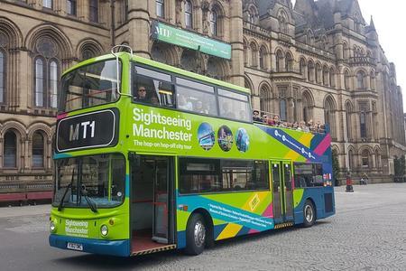 Hop-on-Hop-off-Busrundfahrt durch Manchester