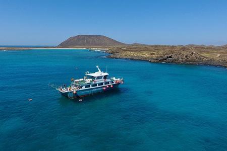 Visita la Isla de Lobos con actividad de Snorkel desde Corralejo, Fuerteventura
