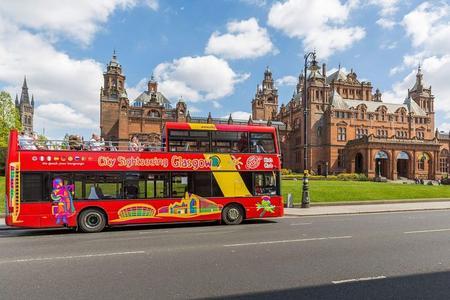 Hop-on-Hop-off-Bustour durch Glasgow
