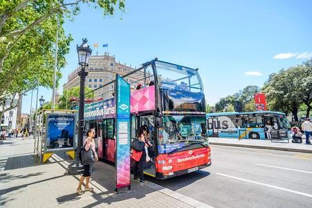 Hop-on-Hop-off-Tour durch Barcelona