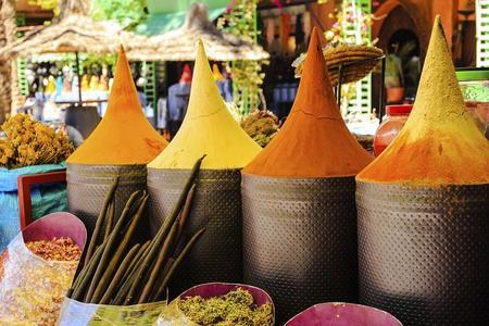 Tour a pie de 3 horas por los zocos de Marrakech y Medina