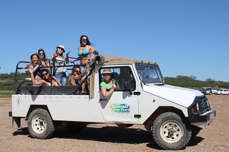 Excursão de Meio Dia à Zona Rural do Algarve e Safári de Jipe nas Vilas