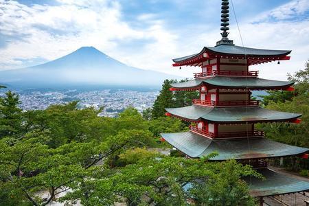 Lugares turísticos de Mt Fuji y el lago Kawaguchi en un día en autobús