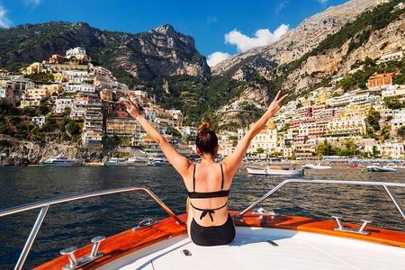 Tour In Barca Da Sorrento Ad Amalfi Con Visita Di Positano