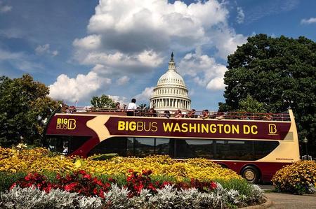 Big Bus Washington DC Open Top Hop-On Hop-Off Tour