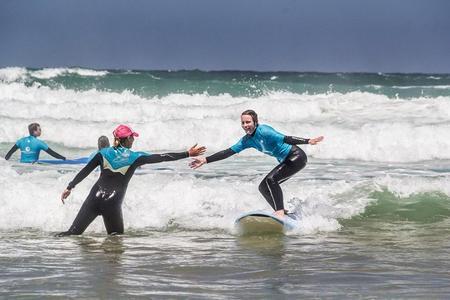 Surfunterricht in Algarve