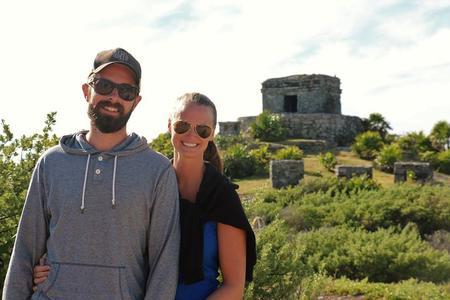 3 en 1 - Excursión Discovery Combo: Ruinas de Tulum, Snorkel en Arrecife, más Cenote y Cuevas.