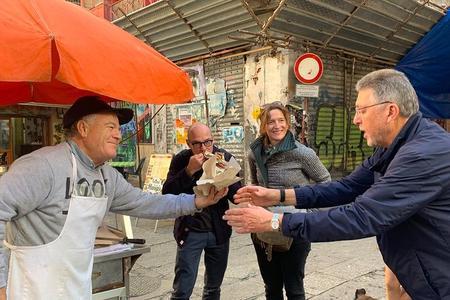Tour a piedi per lo street food di Palermo