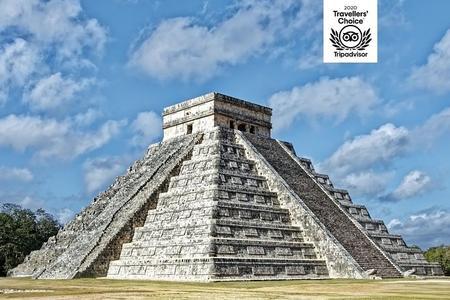 Chichén Itzá Todo incluido, Valladolid con baño en el cenote y buffet mexicano