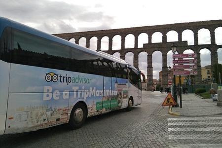 Recorrido por Toledo y Segovia desde Madrid con entrada al Alcázar de Segovia