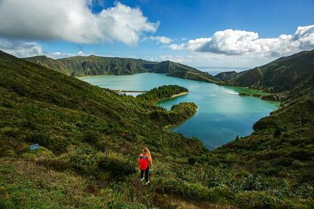 Centro da Ilha - Lago de Fogo, Piscina Térmica, Abacaxi e Plantação de Chá
