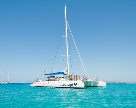 Excursión en Catamarán por Ibiza y Formentera