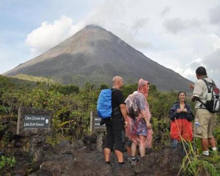 Arenal Vulkan Wanderung