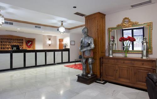 Hotel Real de Toledo, Entrada interior