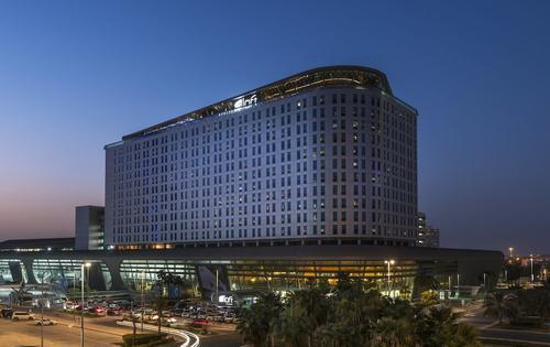 Aloft Abu Dhabi, Imagen destacada
